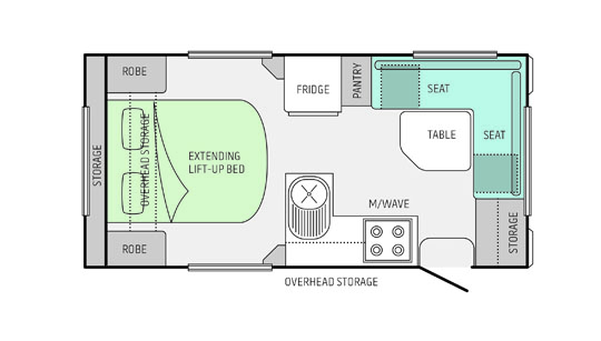 Jayco Floorplan for the Starcraft,15.48-4.