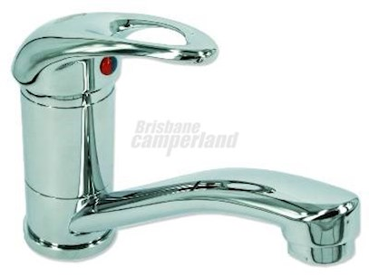 CHROME FLICK MIXER WITH 160MM SPOUT