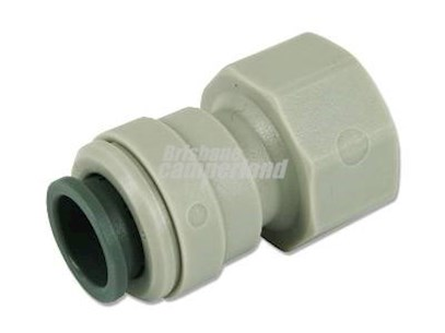JOHN GUEST FEMALE PLASTIC CONNECTOR 1/2 FBSP 12MM