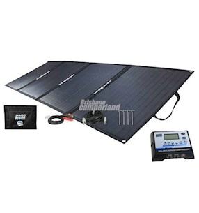 KORR 150W ULTRALIGHT FOLDING SOLAR MAT WITH CROC SKIN
