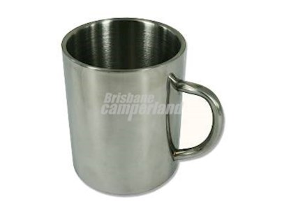 STAINLESS STEEL DOUBLE WALL MUG - 425 ML