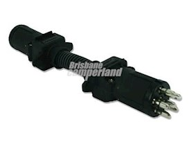 ADAPTOR - 7PIN RND SML (CAR) TO 6PIN RND SMALL (TRAILER)