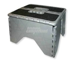 CAMCO FOLDING PLASTIC STEP