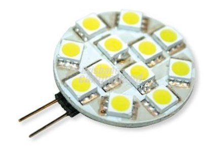LED SIDE PIN G4 - COOL WHITE 2.4W