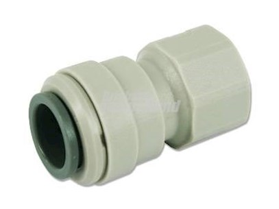 JOHN GUEST FEMALE PLASTIC CONNECTOR 12MM X 3/8 FBSP