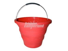 10L COLLAPSIBLE BUCKET - RED