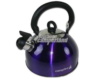2.5L STAINLESS STEEL WHISTLING KETTLE - PURPLE