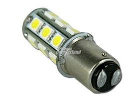 LED  BA15D (PARALLEL PIN-DOUBLE CONTACT)