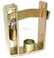 DUAL TRAILER COUPLING LOCK HEAVY DUTY-INC PADLOCK CL-50