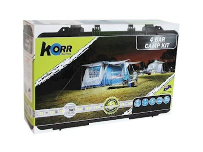KORR 4 BAR LED CAMPKIT WHITE