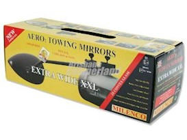 AERO EXTRA WIDE TOWING MIRRORS - MILENCO
