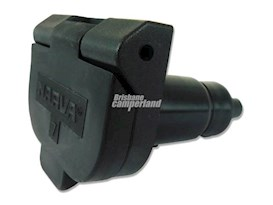 CAR SOCKET - 7PIN SMALL ROUND