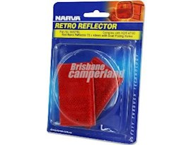 RED REFLECTORS - 2 PACK