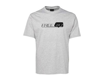 LIVIN THE DREAM SMALL GREY T/SHIRT