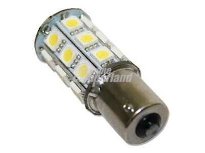 LED BA15S  (PARALLEL PIN-SINGLE CONTACT)