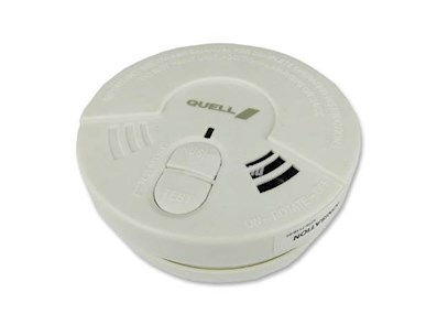 SMOKE ALARM 9V SUPPLIED WITH BATTERY