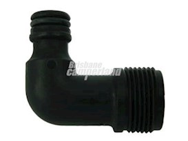 COAST 90 DEGREE ELBOW HOSE ADAPTOR 1/2' MPT TO CLICK ON