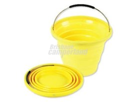 10L COLLAPSIBLE BUCKET - YELLOW