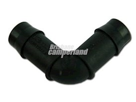13MM PLASTIC BARBED ELBOW