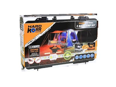 KORR 2 BAR LED CAMP LIGHT ORANGE/WHITE